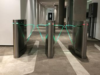 Turnstiles and speedgates