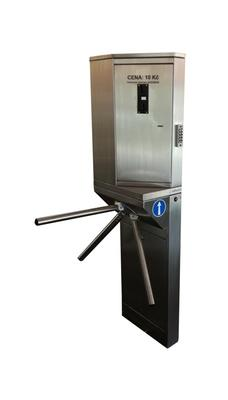 Turnstile with payment machine